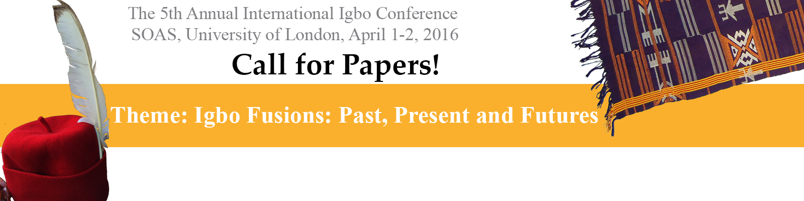 Call for Papers – Igbo Conference 2016
